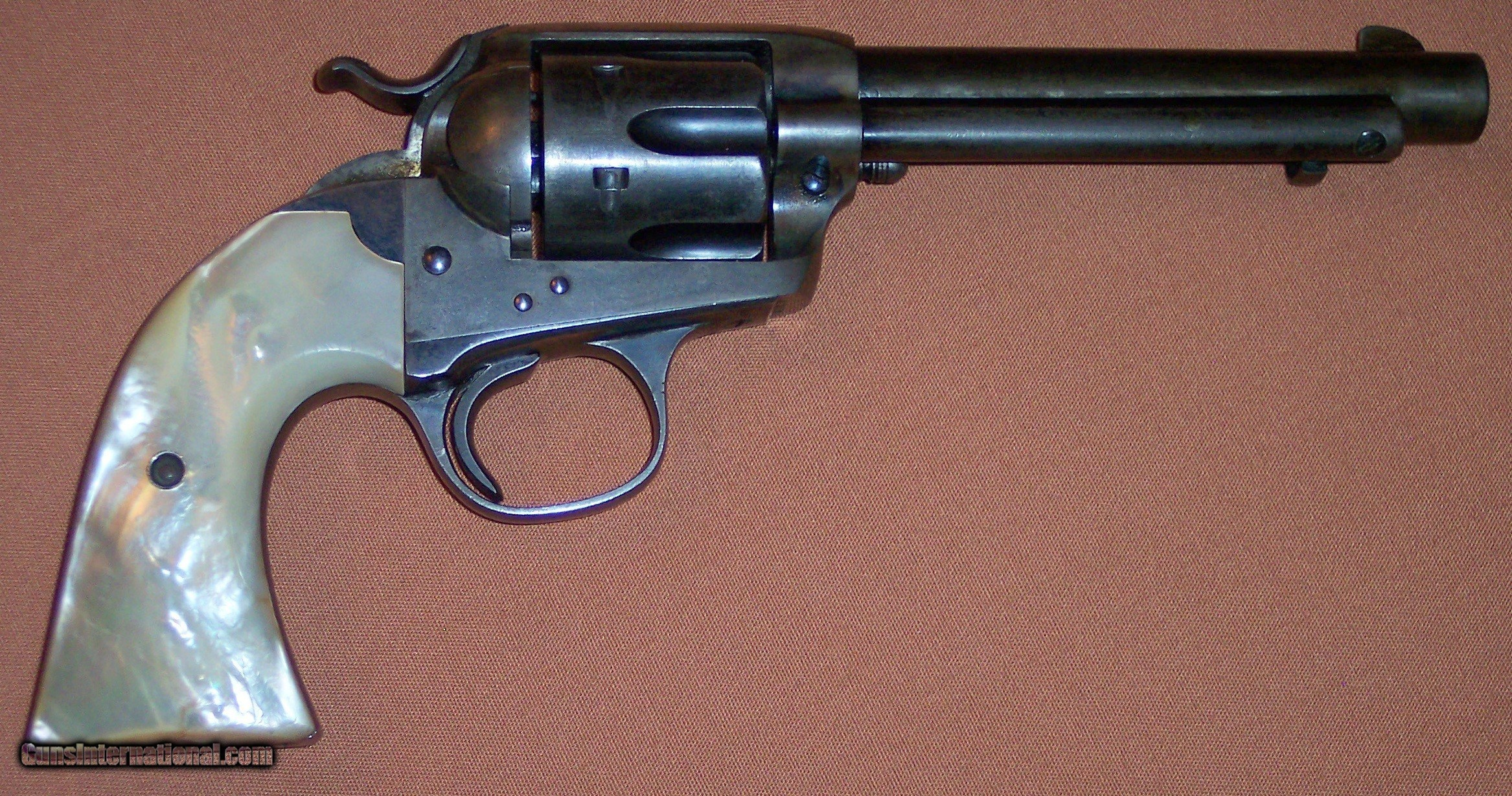 Colt 1st Generation Exceptional Bisley Wfactory Pearl Shipped To