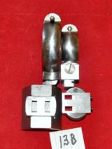 German front(D.39 mm) & rear(D.25.4-26 mm)claw mount rings w/saddle & bases K98!! - 3 of 4