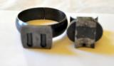 German front ring(D.45mm) and rear half ring(D.26mm)claw mount set K98,Gew98 - 3 of 3