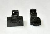 German-saddle-claw-mounts-and-bases-set-for-rifle-scope-w-dovetail-rail-14-mm- 1 of 3
