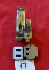 German AKAH D.46.5/30 mm rings claw mounts set with bases,polished.Very Rare! - 4 of 5