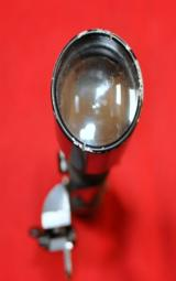 German Unknown sniper rifle scope 4 X 81 w/ Akah side mount and base 1935-1940 - 4 of 4