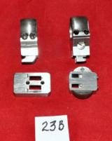 German Akah ring claw mount set(D.21-22 mm) for rifle w/base dovetail type 11 mm - 3 of 4