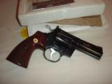 Colt Python 4in Blue