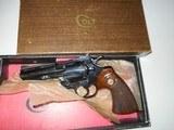 Colt Python 4in Blue (1969) LNIB - 1 of 4