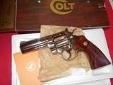 Colt Python 4inNickel LNIB