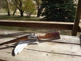 Rare, Early Large Bore Whitney RB sporting rifle, Fancy wood, SN #5, .45/60 - 1 of 14