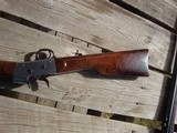 Rare, Early Large Bore Whitney RB sporting rifle, Fancy wood, SN #5, .45/60 - 3 of 14