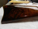 Rare, Early Large Bore Whitney RB sporting rifle, Fancy wood, SN #5, .45/60 - 5 of 14
