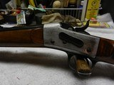 Rare, Early Large Bore Whitney RB sporting rifle, Fancy wood, SN #5, .45/60 - 4 of 14