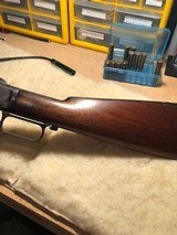 """Very nice Special Order Winchester 1873 with original cleaning rod still in butt, .38/40, 24"""" octagon barrel - 11 of 13"""