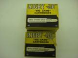 RIGBYBIG GAMECARTRIDGES 416 RIGBY MAG AMMO