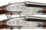 PURDEY BEST MATCHED PAIR, CONSECUTIVE SERIAL # 20 GAUGE