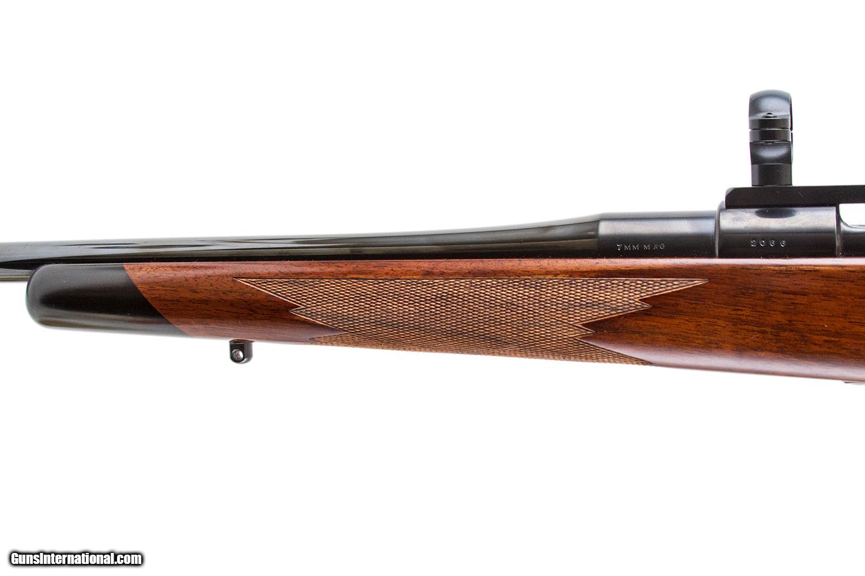 Jaeger Mauser: Custom Mannlicher Mauser Jaeger Hartley 7x57