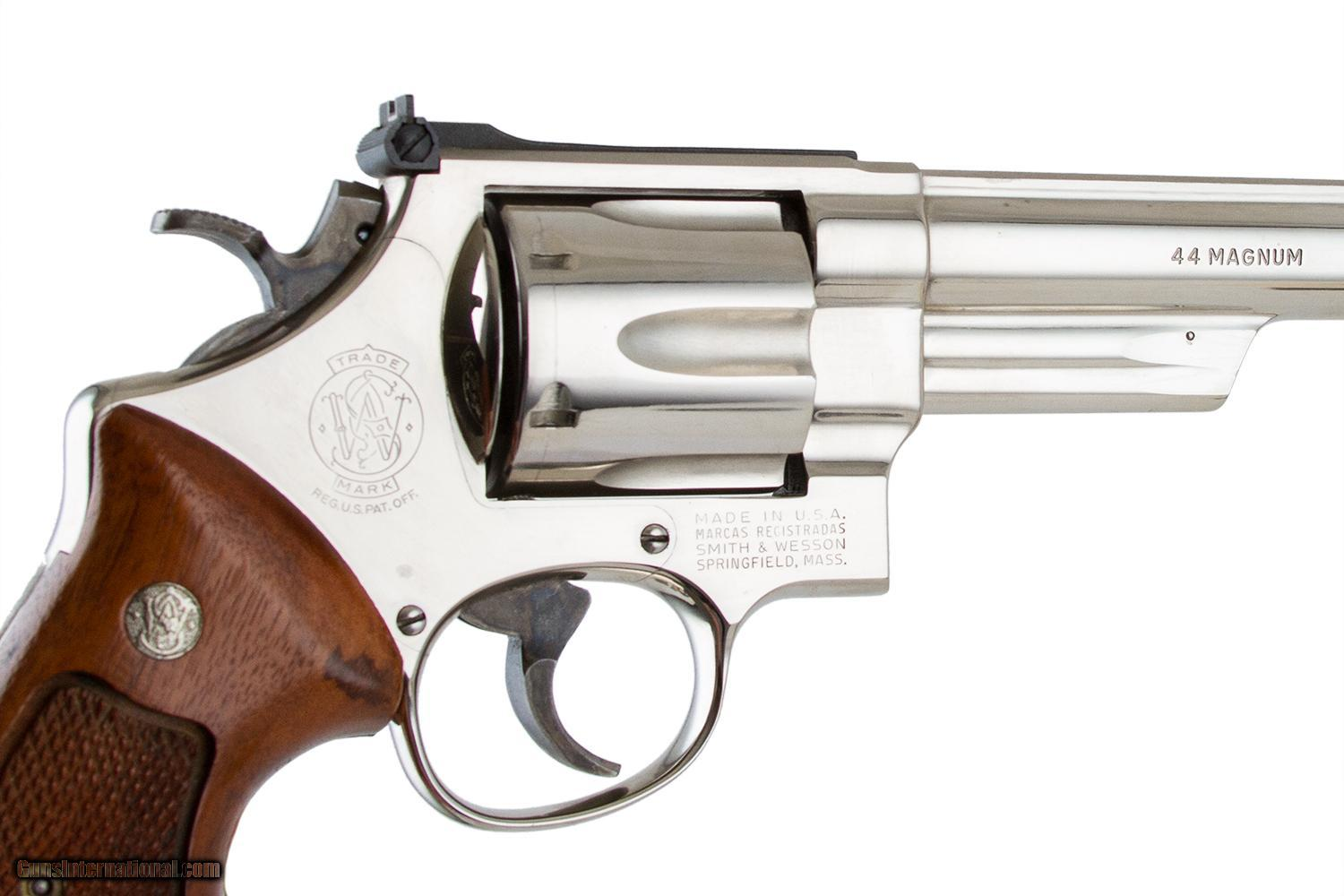 SMITH & WESSON MODEL 29-3 44 MAGNUM