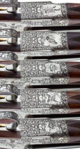 HOLLAND & HOLLAND - 5 GUN SET, 12-12-20-28-410 GAUGE - 10 of 15