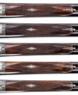 HOLLAND & HOLLAND - 5 GUN SET, 12-12-20-20-28 GAUGE - 13 of 15