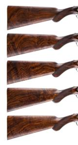 HOLLAND & HOLLAND - 5 GUN SET, 12-12-20-20-28 GAUGE - 14 of 15