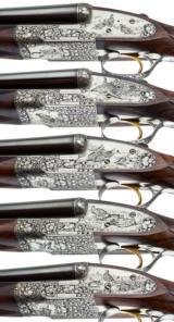 HOLLAND & HOLLAND - 5 GUN SET, 12-12-20-20-28 GAUGE - 5 of 15