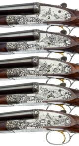 HOLLAND & HOLLAND - 5 GUN SET, 12-12-20-20-28 GAUGE - 6 of 15