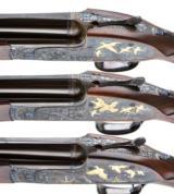 PURDEY BEST OVER UNDER 3 GUN SET 410-28-20 - 7 of 17