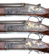 PURDEY BEST OVER UNDER 3 GUN SET 410-28-20 - 6 of 17
