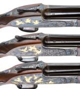 PURDEY BEST OVER UNDER 3 GUN SET 410-28-20 - 8 of 17