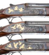 PURDEY BEST OVER UNDER 3 GUN SET 410-28-20