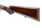MANTON & CO HAMMER DOUBLE RIFLE 470 NITRO - 15 of 15