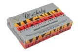 1 Box Weatherby 378 Magnum
