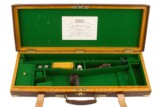 Westley Richards Oak & Leather Double Rifle Case Complete With ACC - 1 of 2