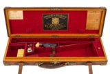 Holland & Holland Oak & Leather Double Rifle Case Complete With ACC