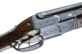COGSWELL &HARRISON BOXLOCK EJECTOR SXS DOUBLE RIFLE 470 NITRO - 4 of 14