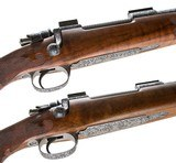 LENARD BROWNELL PAUL JAEGER CLAUS WILLIG PAIR 270 WINCHESTER & 243 WINCHESTER