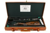 """J RIGBYBEST RISING BITE DOUBLE RIFLE 450-400 3"""" WITH EXTRA 470 NITRO BARRELS - 21 of 21"""