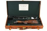 """WESTLEY RICHARDS BEST DROPLOCK DOUBLE RIFLE 450-400 3"""" WITH EXTRA 470 BARRELS - 21 of 21"""