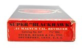 RUGER SUPER BLACKHAWK 44 MAGNUM - 5 of 5