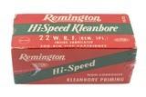 Remignton Hi-Speed Leanbore 22 WRF