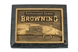 Browning Authorized Dealer Sign