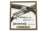 Browning Sign with Picture of A-5 & Superposed