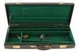 Vintage Two Barrel O/U Shotgun or Rifle Case