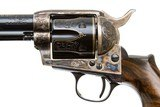 UBERTI SINGLE ACTION ARMY BIRDS HEADFACTORY ENGRAVED 45 COLT - 4 of 8