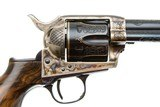 UBERTI SINGLE ACTION ARMY BIRDS HEADFACTORY ENGRAVED 45 COLT - 3 of 8