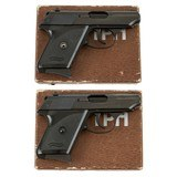 WALTHER TPH 22 LR CONSECUTIVE NUMBERED PAIR