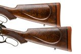 A PAIR OF WINCHESTER 1886 TAKEDOWN CUSTOMS BY ACTOR BRAD JOHNSON 45-70 AND 50 EXPRESS - 14 of 15