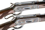 A PAIR OF WINCHESTER 1886 TAKEDOWN CUSTOMS BY ACTOR BRAD JOHNSON 45-70 AND 50 EXPRESS - 7 of 15