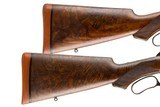 A PAIR OF WINCHESTER 1886 TAKEDOWN CUSTOMS BY ACTOR BRAD JOHNSON 45-70 AND 50 EXPRESS - 15 of 15