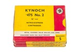 "2 Boxes Kynoch 475 #2 3 1/2"" Case - 1 of 1"