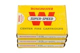 3 Boxes Vintage Winchester 375 H&H Magnum Ammo