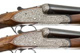 ARRIZABALAGA BEST SIDELOCK LEFT HAND PAIR 12 GAUGE